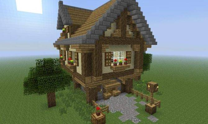 Guide Building Old Fashioned Houses Minecraft Ideer