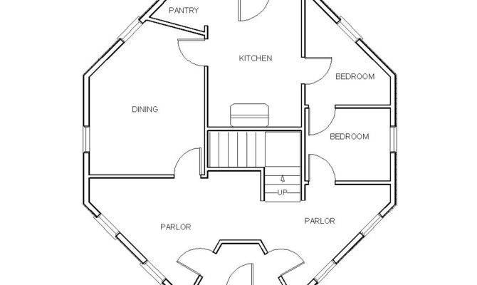 Gunnison Octagonal House Floor Plan History Grand Rapids House Plans 65785