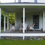 Habitat Postand Beam Farmhouse Porch Traditional