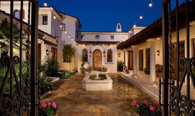 Hacienda Style House Plans Ideas Design