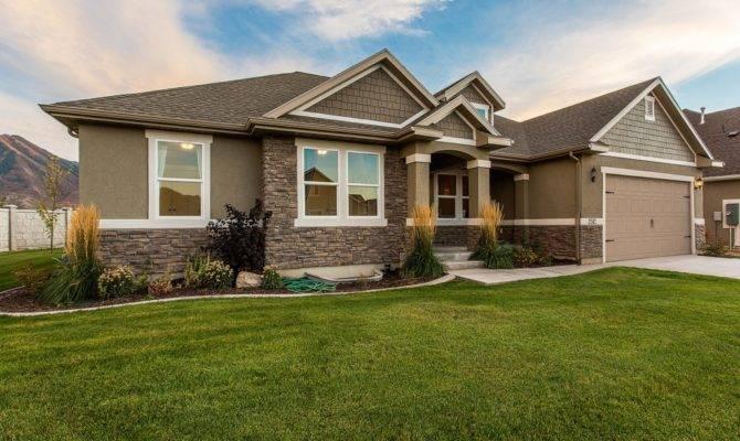Hadley Rambler Floor Plan Utah Edge Homes House Plans 54113