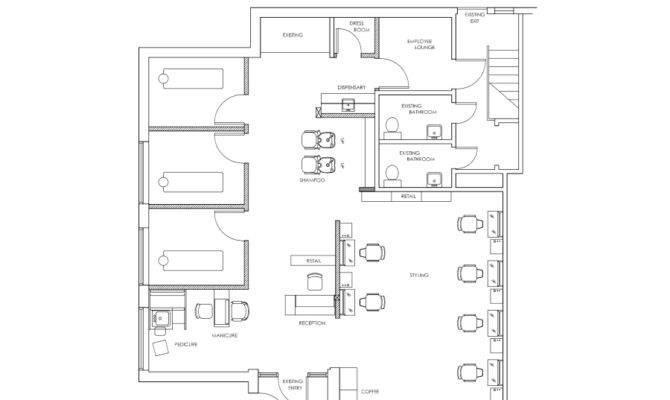 Hair Salon Design Ideas Floor Plans