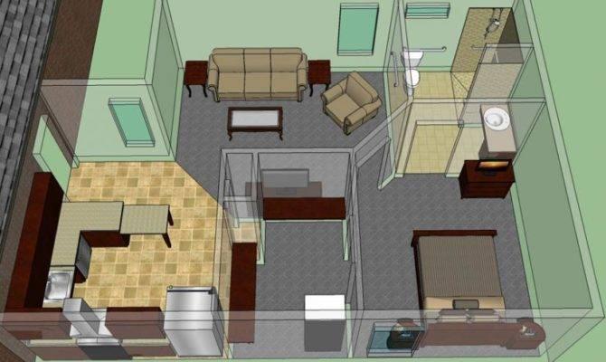 Handicap Accessible Mother Law Suite House Plans Floor