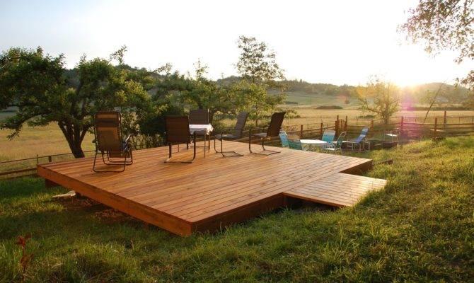 Handmade Custom Standing Deck Dagan Design