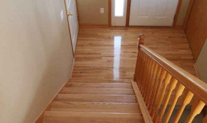 Hardwood Split Level Home Project Blog Natural