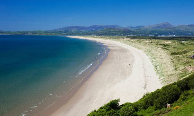 Harlech Beach Beaches Coast Coastal Coastline Coastlines