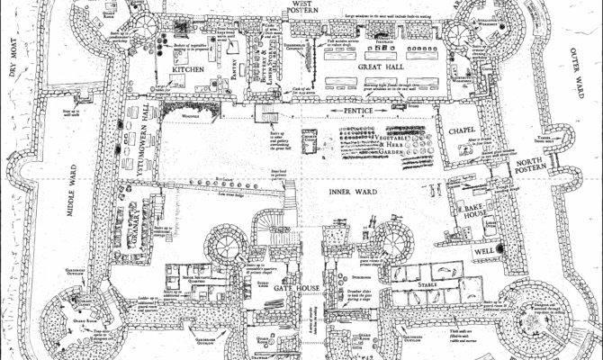 Inspiring Castle Designs Blueprints Photo House Plans