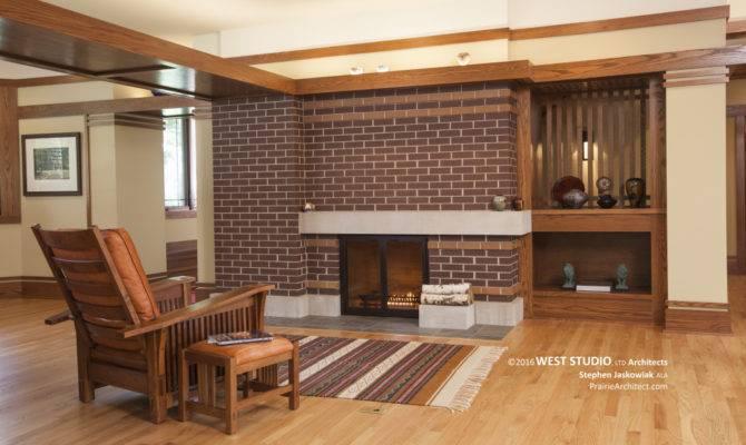 Harmonic Winds House Fireplace Prairiearchitect