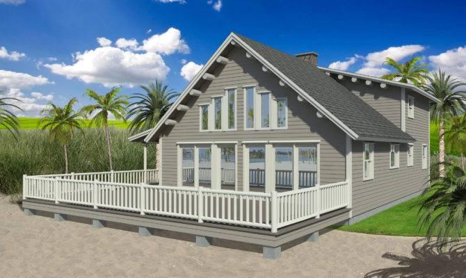 Harmonious Beach House Small Architecture Plans