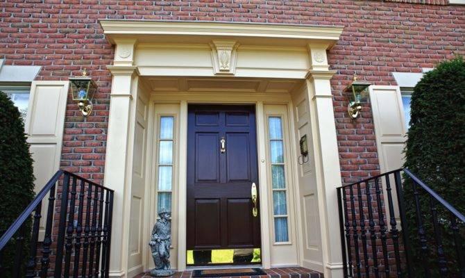 Harmonious Georgian Style Front Doors Architecture