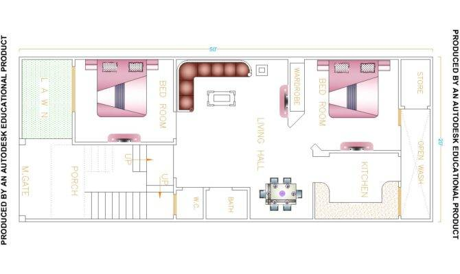 Harmonious House Map Drawing Architecture Plans