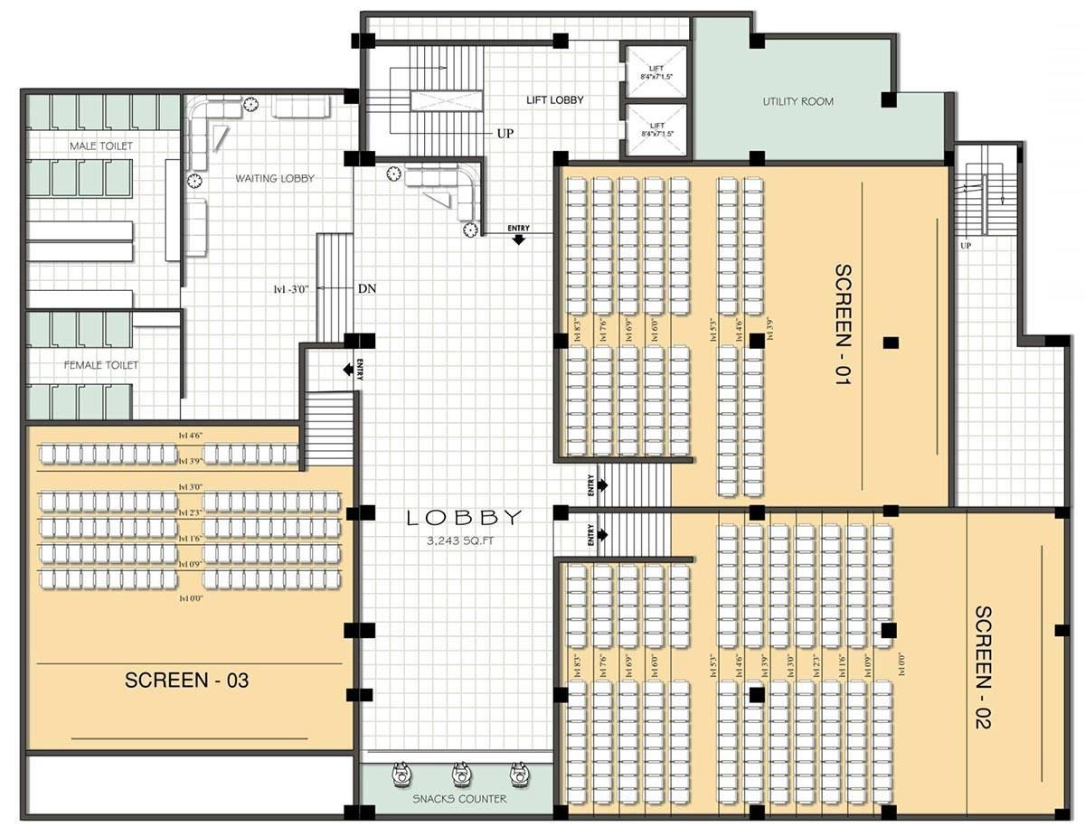 Harmonious Multiplex Plans Designs Architecture House Plans 119306