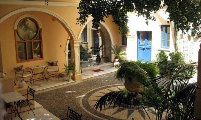 Harmonious Spanish Style House Plans Interior