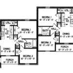 Harriet Grove Ranch Duplex Home Plan House Plans More