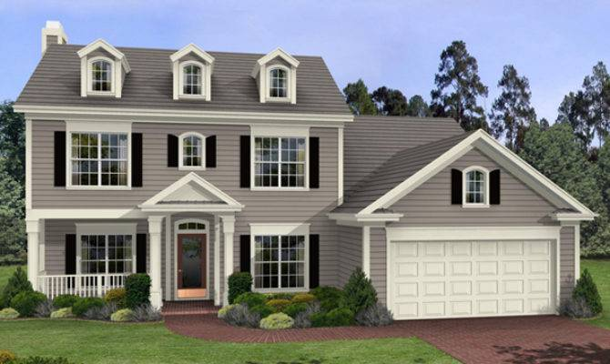 Harrison Glen Colonial Home Plan House Plans
