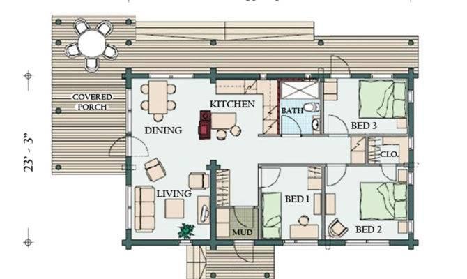 Hatch Cabin Floorplan