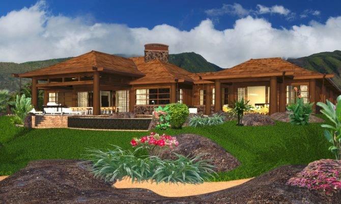 Hawaiian Home Plans Hawaii Plantation House