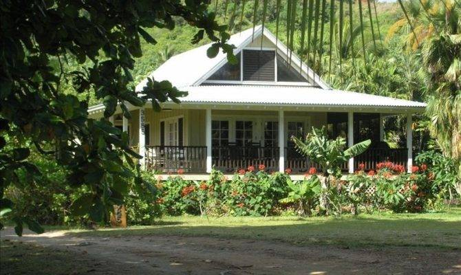 Hawaiian Plantation Style Beach Houses