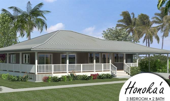 Hawaiian Plantation Style House Plans Hpm Honokaa Packaged Home