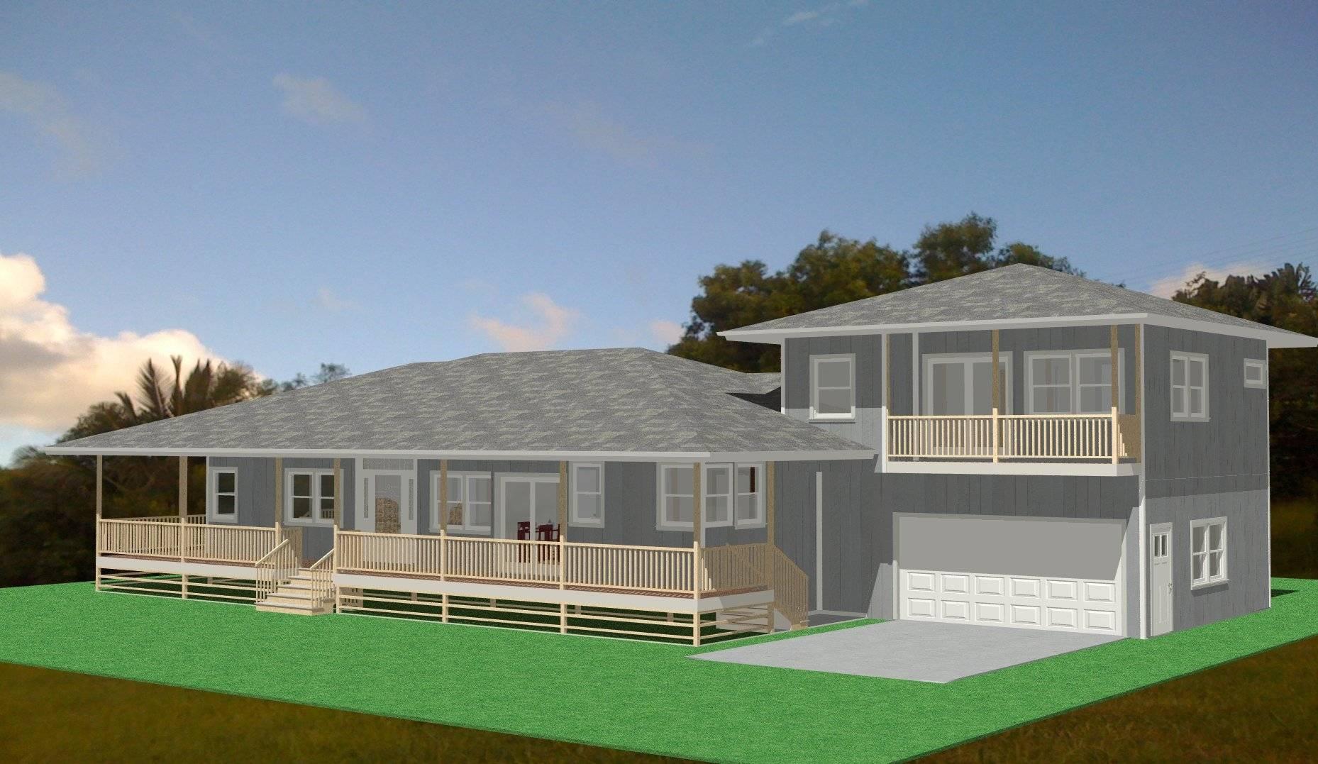 Hawaiian Plantation Style House Plans House Plans 11649