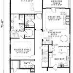 Hawk Hill Narrow Lot Home Plan House Plans