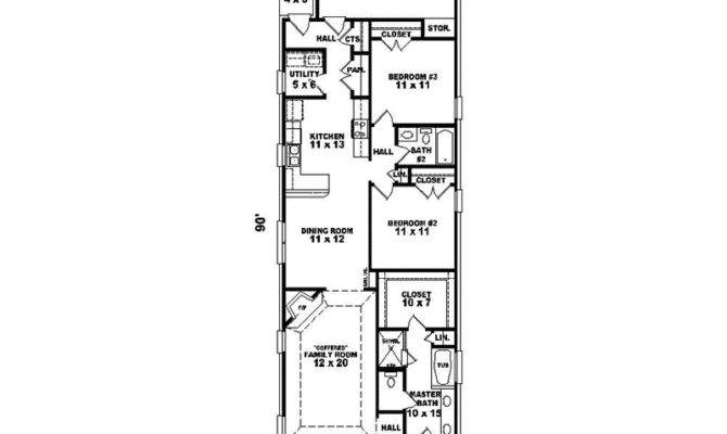 Hawken Narrow Lot Home Plan House Plans More