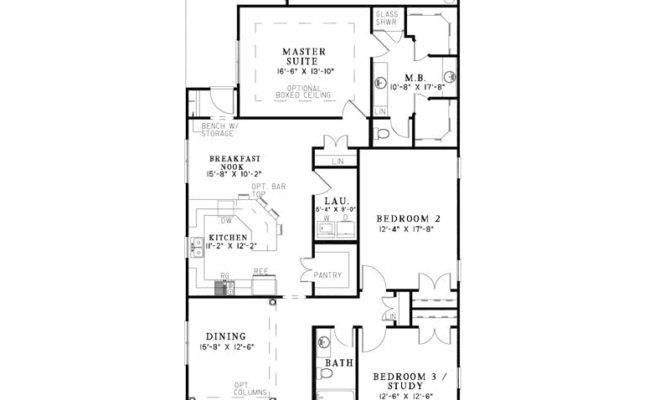 Hawkins Corner Narrow Lot Home Plan House