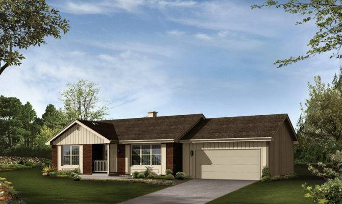Hawkins Country Ranch Home Plan House Plans More
