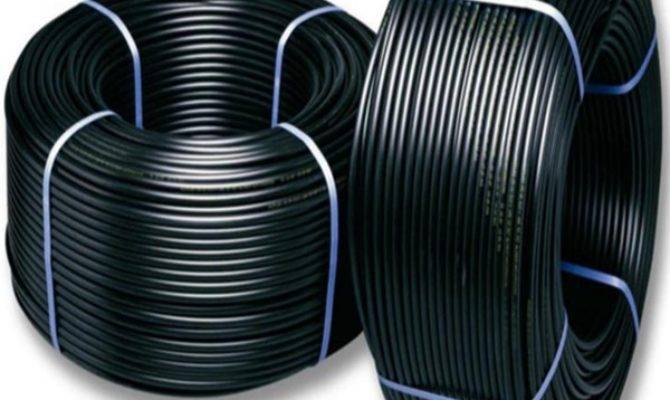 Hdpe Black Plastic Water Pipe Roll Sale