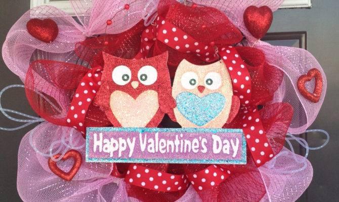 Heart Melting Handmade Valentine Wreaths Style