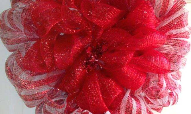 Heart Shaped Valentine Wreath Trendy Tree Blog Holiday