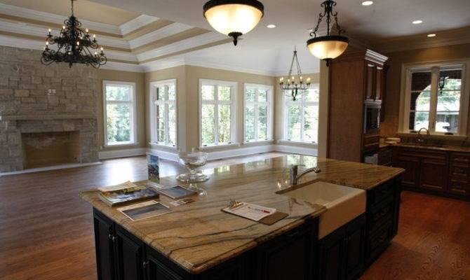 Hearth Room Traditional Kitchen Louis Schaub