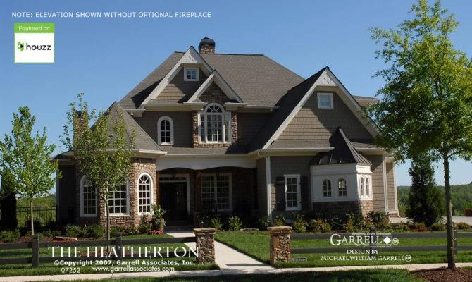 Heatherton House Plan Plans Garrell Associates