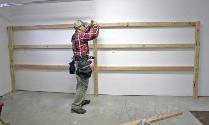 Help Method Attaching Surf Rack Brace Wall