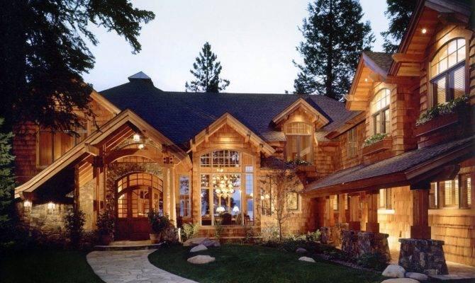 Hendricks Architecture Idaho Rustic Mountain Lake Home