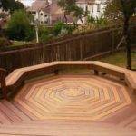 Here Cool Octagon Shaped Custom Deck Design
