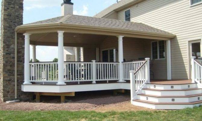 Here Covered Deck Fantastic River
