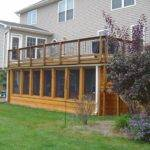 Here Home Decor Deck Ideas Under Screen Porch