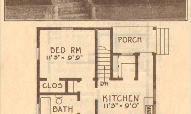 Hewitt Lea Funck Company Bungalow Kit Homes Plan