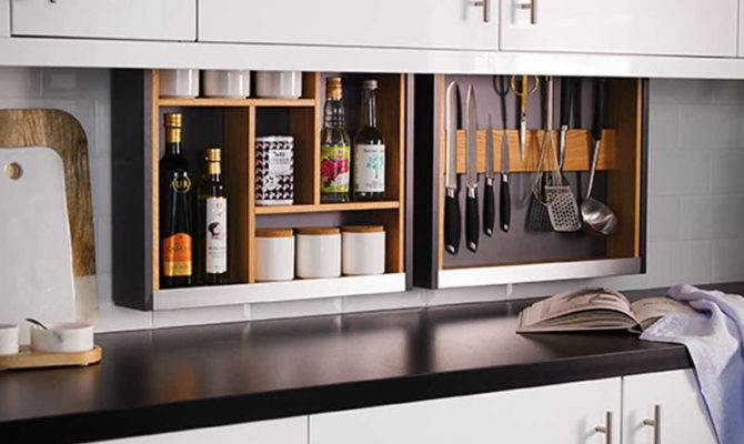 Hidden Kitchen Storage Solutions Solution