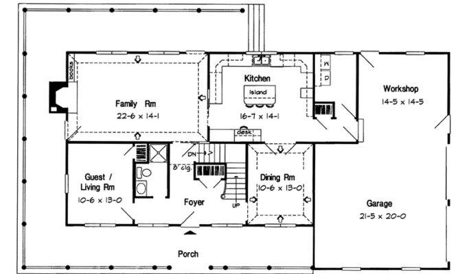 High American House Plans Early