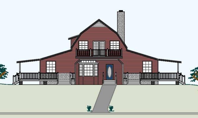 High Barn Style House Plans