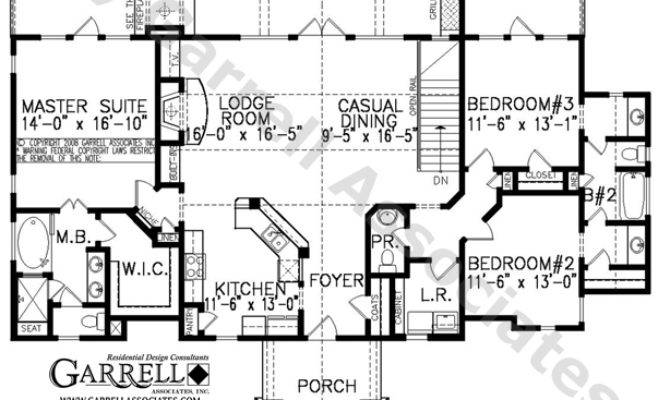 High Country Cottage House Plan Active Adult Plans