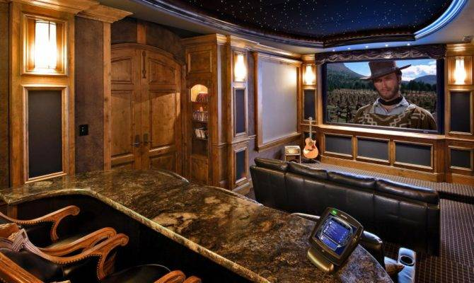 High End Home Theater Designs Hgtv