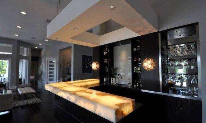 High End Modern Home Bar Designs Your New