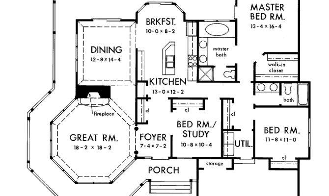 High House Plans Story One Victorian