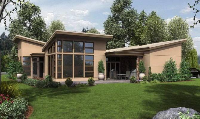 High Prairie Home Plans Modern Ranch Style
