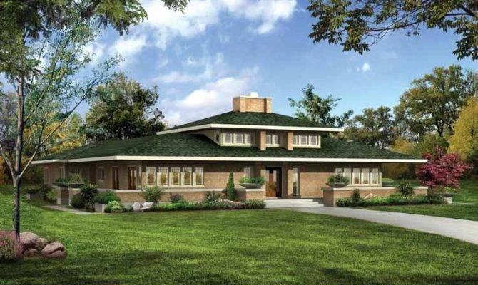 High Prairie Style Home Plans