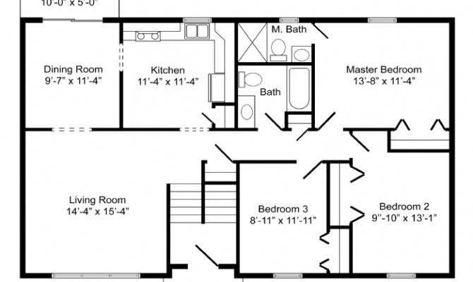 High Quality Basic Home Plans Level Floor