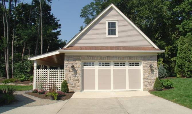High Quality Building Detached Garage